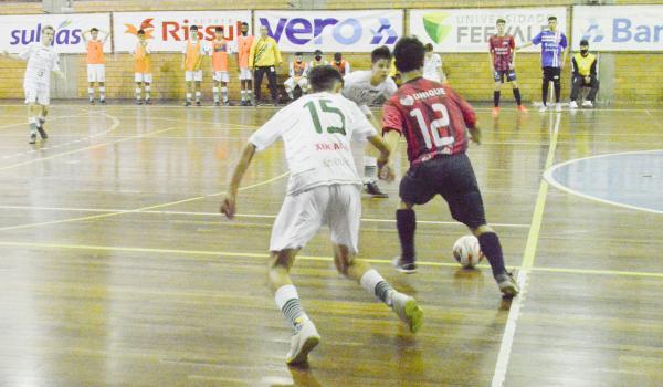 Sub-15 da UJR/Feevale/Banrisul joga em casa de olho na liderança do Gauchão